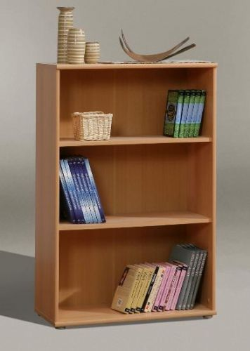 Tempra Beech Short Wide Bookcase - 2339
